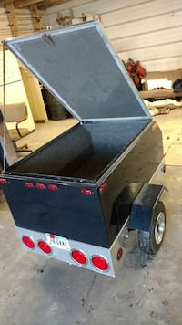 motorcycle trailer. Hospers, 51238