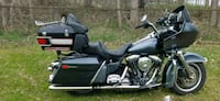 black and gray touring motorcycle Grand Blanc, 48439