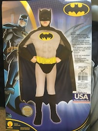 Batman Costume (3-4T) Burke, 22015