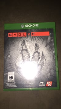 Xbox One Evolve game case Vaughan, L4H 2R1