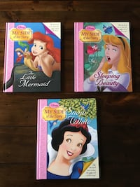 Disney Princess/Villains Books CALGARY