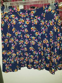 blue and red floral skirt Winter Haven, 33880