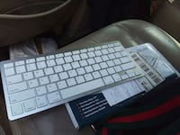 white and gray cordless Bluetooth  keyboard Lancaster, 29720