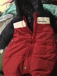 red and black zip-up jacket 60 km