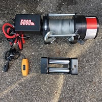 Winch 5000 lbs With Remote ATV Trucks Jeeps -New Grand Rapids, 49546