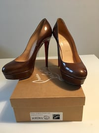 Christian Louboutin marron glacé originali numero 40  Garlasco, 27026