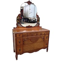 Vintage Chest w/ Mirror Houston
