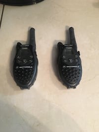 Pair of black leather boat shoes 1619 mi