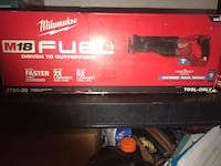 M18 FUEL ONE-KEY 18-Volt Lithium-Ion Brushless Cordless SAWZALL Reciprocating Saw (Tool-Only) Los Angeles, 91405