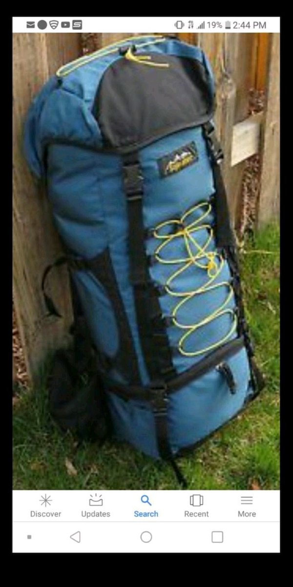 a6d65d6d1b96 Used SOJOURNER EDDIE BAUER HIKING PACK for sale in San Jose - letgo