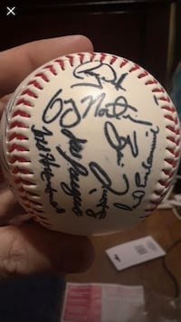 Braves Autographed Authentic Baseball (will trade for tattoo work) 1467 mi