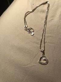 Metal Smith Heart Necklace
