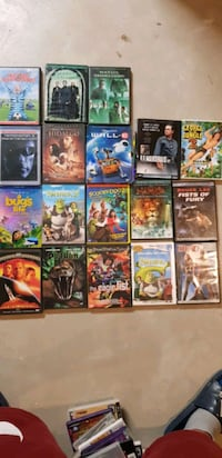 DVD  for sale  18 total  all good condition