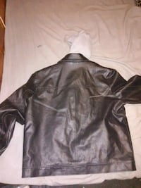 Guess leather coat good for this cold weather  Brooklyn, 21225
