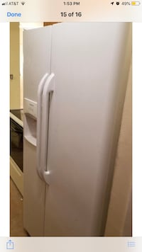 white side by side refrigerator with dispenser Woodbridge, 22191