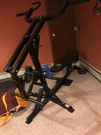 Workout assisted bench.  Bought brand new and haven't used it   Canandaigua, 14424