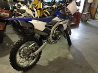 2014 Yamaha YZF 250. Will accept down payment and payments from qualified buyers 2405 mi