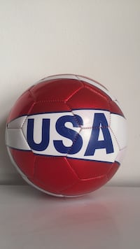 red and white USA soccer ball Virginia Beach, 23454