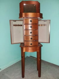 Jewelry Armoire 35 inches tall nice Sanford, 32773