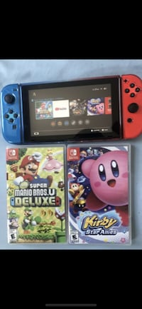 Nintendo switch (everything in picture included) ANNANDALE