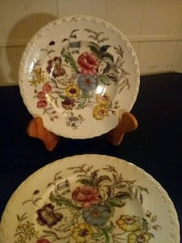 "3-DESSERT ""MAYFLOWER"" 7.5 ins. Plates"