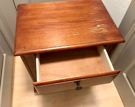 """Solid Wood Cabinet / Side table - 27"""" x 23"""" x 15.5"""""""