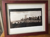 Black & White framed pic NYC World Trade Centers Takoma Park, 20912