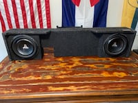 JL Audio 10W1v3-4 and Custom Atrend Bbox Sub Box