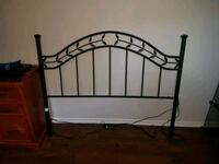 black metal bed headboard and footboard Bowmanville, L1C 2G1