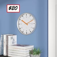 "AJ- BRAND NEW- 10"" Silent Sweep Wall Clock Mississauga"