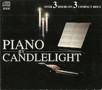 Piano By Candlelight CD Sep 1995 3 Discs Madacy Distribution  pre-owned 3 cds in good (ref # eb1) Newmarket