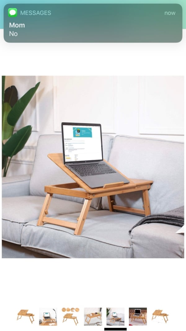Bamboo laptop tray 4
