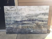 Rectangular abstract painting Indianapolis, 46202