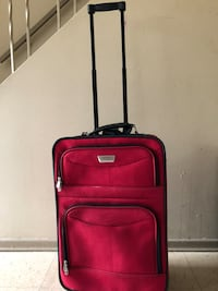 red and black luggage bag Winnipeg, R2K 4A1