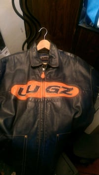 Lugz Motorcycle Leather Jacket Dayton, 45406