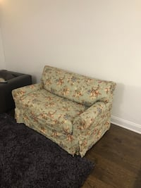 Crate & Barrel Love seat couch with pull out New York, 10016