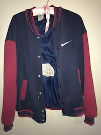 Vintage blue/red Nike Bomber  Calgary, T2A 2R8