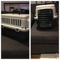 Grey and beige pet carrier Toronto, M3M 1W4