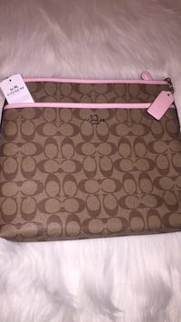 Brown and pink coach crossbody, new! Durant, 74701