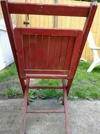 Wood Folding Chair Vancouver, 98684