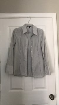 NWOT Fitted Collared Shirt - Pinstripe Clarksburg, 20871