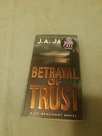 Betrayal of Trust novel book