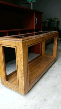 Wooden, glass coffee table Cumming, 30041