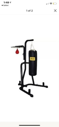 Everlast Heavy Bag with stand, and speed baf Marietta, 30064