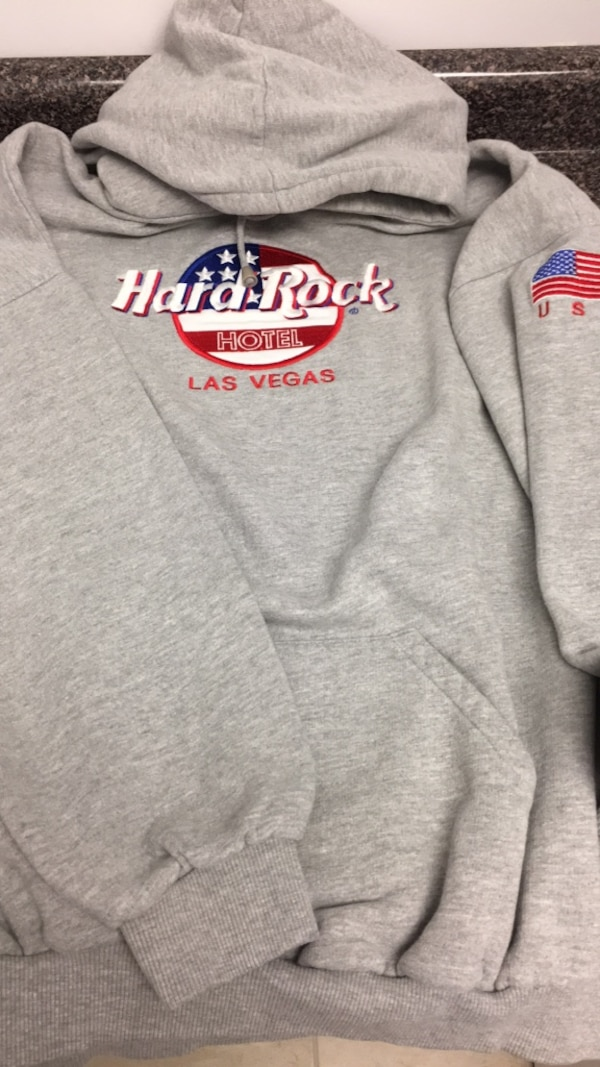 Hard Rock Hotel Hoodie  L/XL Embroidered