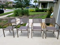 Mesh indoor/outdoor chair set of 4  Sarasota, 34238