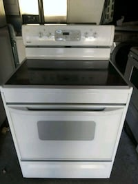 white and black induction range oven Tacoma, 98402