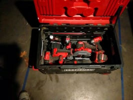 20v Craftsman cordless combo set with rollin carrying case