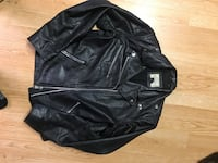 Heavy sm/med Leather Motorcycle Jacket