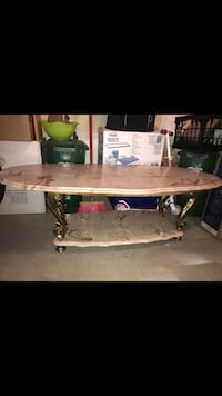 oval brown wooden dining table Milton, L9T 8B7